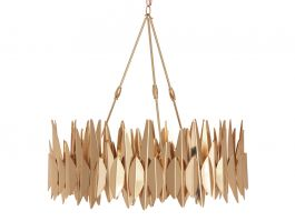 Forest Chandelier - Gold