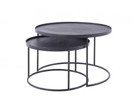 Notre Monde Low Nesting Side Table Set