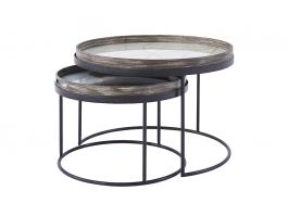 Nesting Tray Side Table Set - view2