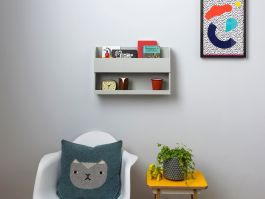 Tidy Books Bunk Bed Buddy Grey - view2
