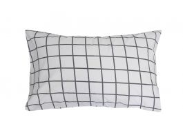 Charcoal SQ Duvet Cover Set - view2