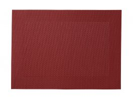 Royal Placemat, Red PVC 30 x 45cm