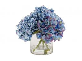 Blue Hydrangea Arrangement - view2