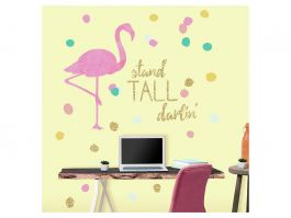 Stand Tall Flamingo W/Glitter - view2