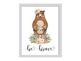 Bear - Be Brave Artwork