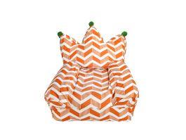 Crown Bean Bag - Orange