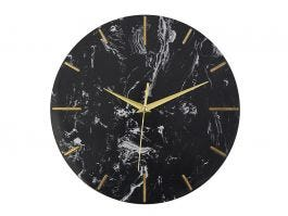 Marble Clock - Black - view2