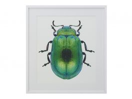 Green Beetle Artwork 90 x 115cm