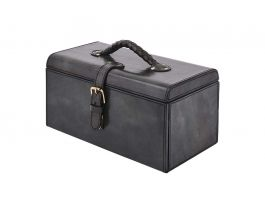 Leather Premium Drawer Box GRY