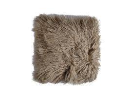 Tibet Lamb Fur C.Cover Taupe
