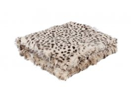 Goat Skin Fur Throw