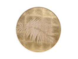 Palm leaves Round Panel - view2