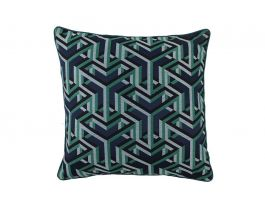 Dade Cushion Cover Blue - Pipe
