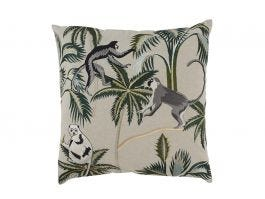 Monkey Forest Cushion Cover L