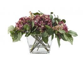 Holiday Hydrangea Floral Arrangement - view2