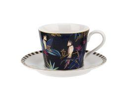 Cockatoo Tea Cup & Saucer - view2