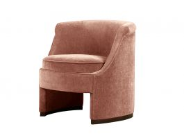 Roxy Chair, Peach - view2
