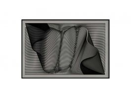 Abstract Ribbon Artwork - view2