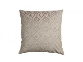 Diamante Cushion Cover, Grey 50x50cm