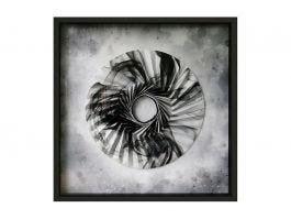 Origami Marble Circle Artwork - view2
