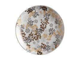 Yuletide Round Plate 16cm