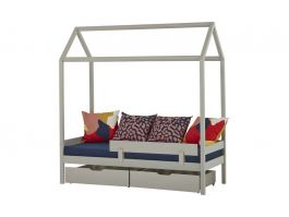 Ida Marie House Bed 70x160 Gry - view2