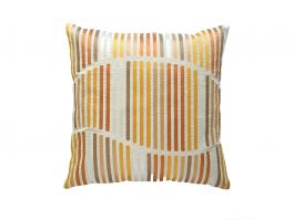 Okar Stripes Cushion Cover, 50x50cm