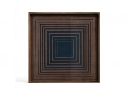Ink Square Glass Tray Small