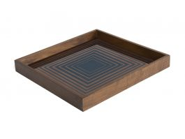 Ink Square Glass Tray Small - view2