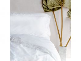 Bamboo Bedding Set - Feather White Double - view2