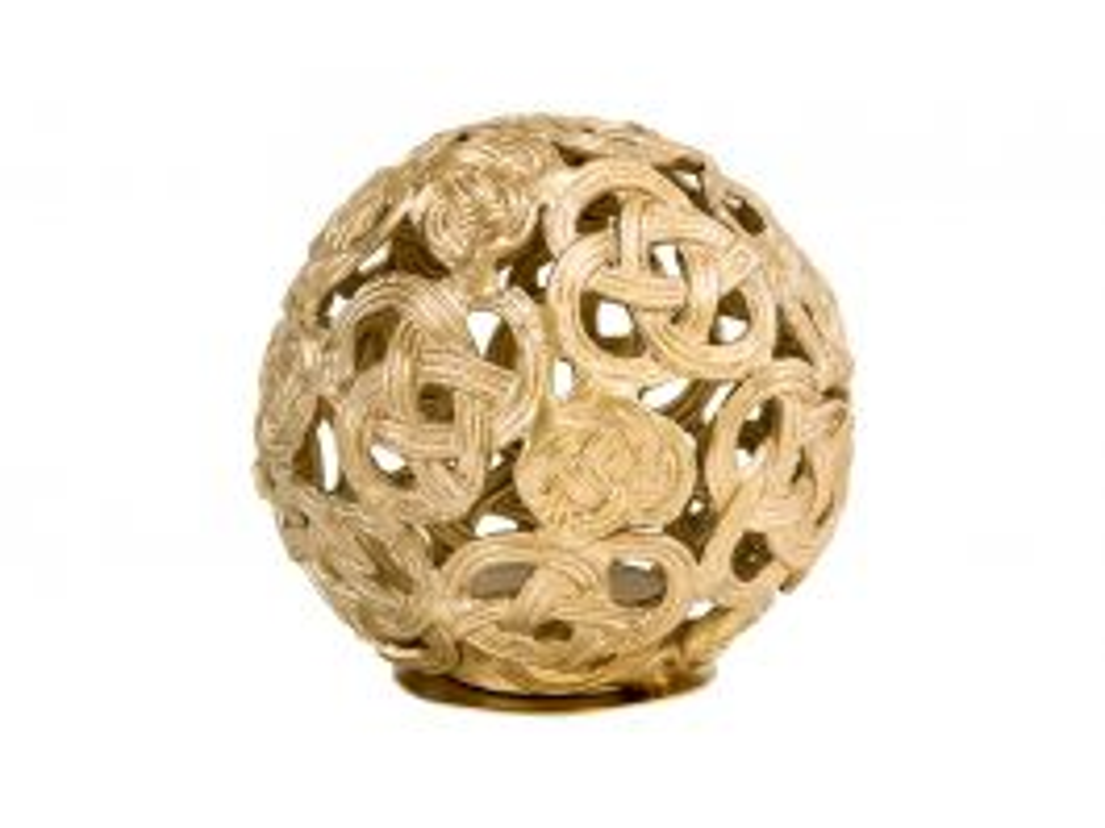 Celtic Knot Tealight Globe