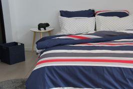 Leon Duvet, Pillowcase & Fitted Sheet Set-Single Size - view2
