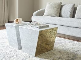 Malone Marble Coffee Table, Small - view2