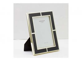 Black Gold Brass Frame -5'x7' - view2