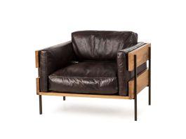 Carson II Chair -Espresso Leather - view2
