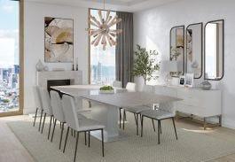 Capri Extending Dining Table 190/240cm - view2